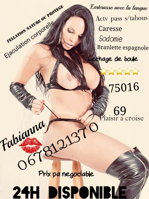 ✅✅✅FABIANNA 75016 LA VRAI ET UNIQUE IN FRANCE